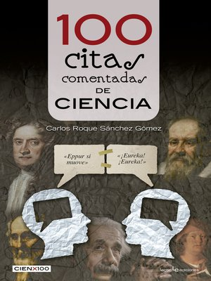 cover image of 100 citas comentadas de ciencia