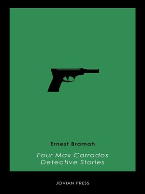 cover image of Four Max Carrados Detective Stories