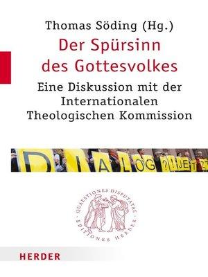 cover image of Der Spürsinn des Gottesvolkes