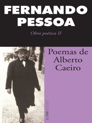 cover image of Poemas de Alberto Caeiro