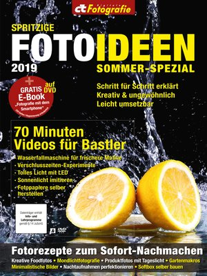 cover image of c't Fotografie Sommer-Spezial 2019