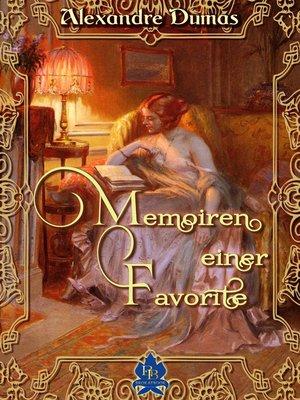 cover image of Memoiren einer Favorite
