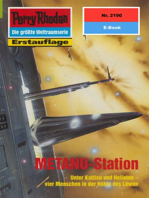 cover image of Perry Rhodan 2190