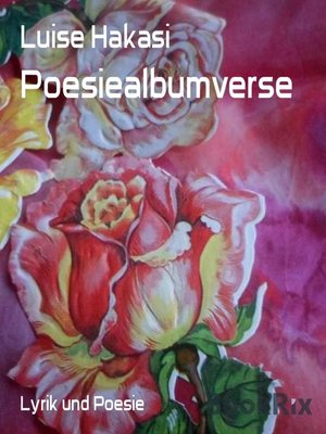 cover image of Poesiealbumverse