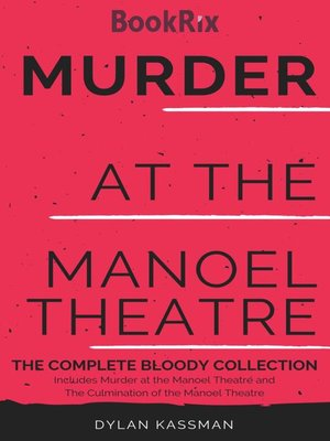 cover image of Murder at the Manoel Theatre