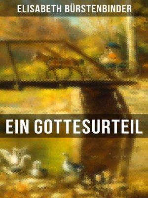 cover image of Ein Gottesurteil
