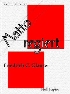 cover image of Matto regiert