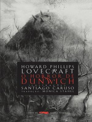 cover image of O horror de Dunwich