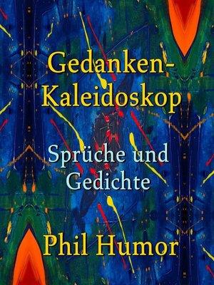 cover image of Gedanken-Kaleidoskop – Sprüche und Gedichte