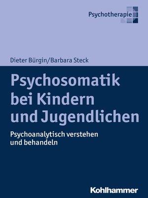 cover image of Psychosomatik bei Kindern und Jugendlichen