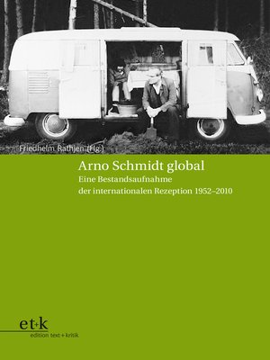 cover image of Arno Schmidt global