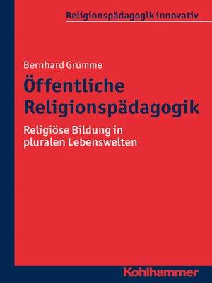 cover image of Öffentliche Religionspädagogik