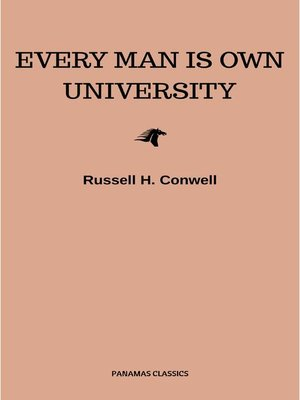 cover image of Every Man is Own University