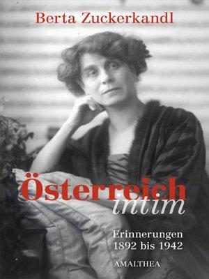 cover image of Österreich intim