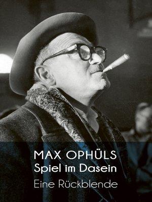 cover image of Spiel im Dasein
