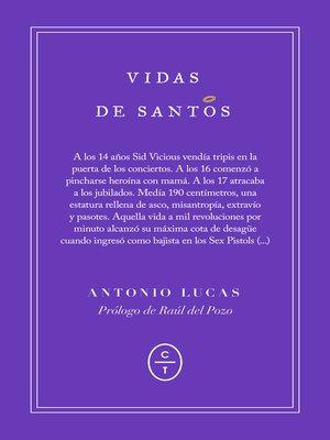 cover image of Vidas de santos