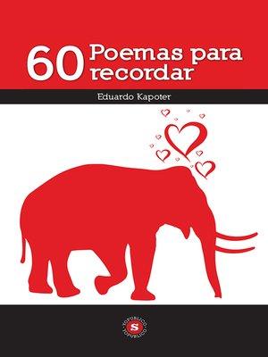 cover image of 60 Poemas para recordar