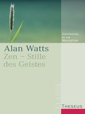 cover image of Zen--Stille des Geistes