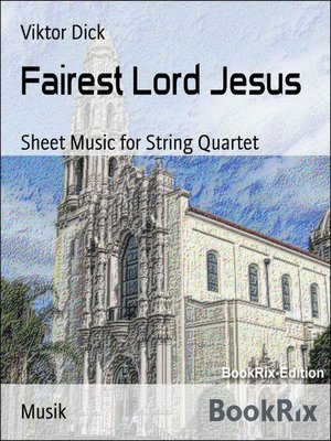 cover image of Fairest Lord Jesus