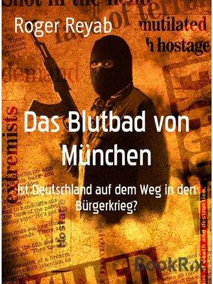 cover image of Das Blutbad von München