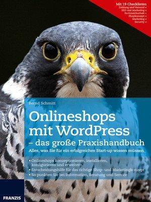 cover image of Onlineshops mit WordPress--das große Praxishandbuch