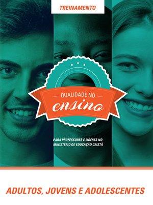 cover image of Treinamento--Adultos, Jovens e Adolescentes