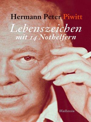 cover image of Lebenszeichen mit 14 Nothelfern