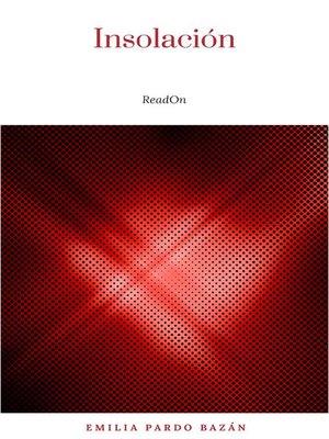 cover image of Insolación