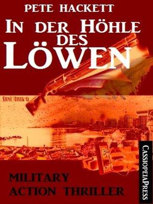 cover image of In der Höhle des Löwen