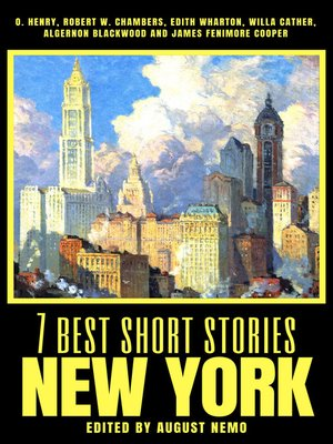 cover image of 7 best short stories--New York
