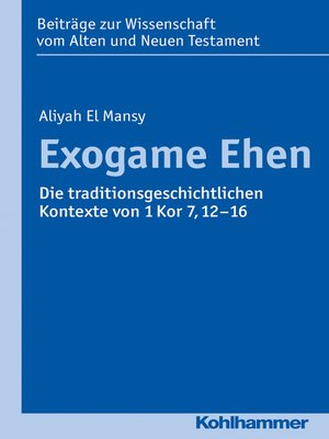 cover image of Exogame Ehen
