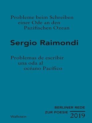 cover image of Probleme beim Schreiben einer Ode an den Pazifischen Ozean