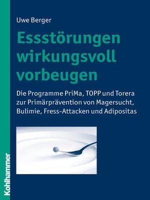 cover image of Essstörungen wirkungsvoll vorbeugen