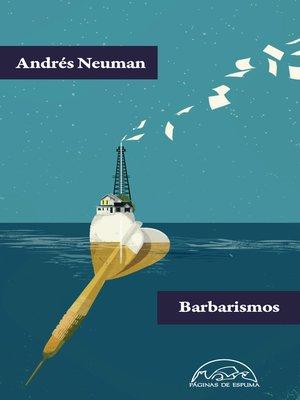 cover image of Barbarismos