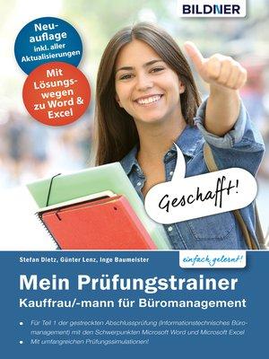 cover image of Mein Prüfungstrainer Kauffrau / Kaufmann für Büromanagement Teil 1 der gestreckten Abschlussprüfung