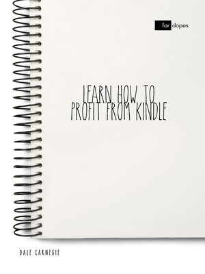 cover image of Learn How to Profit from Kindle