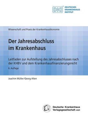 cover image of Der Jahresabschluss im Krankenhaus