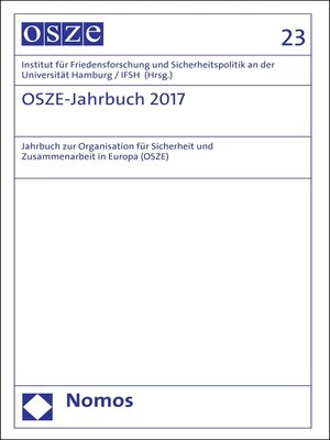 cover image of OSZE-Jahrbuch 2017