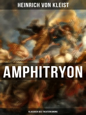 cover image of Amphitryon (Klassiker des Theaterkanons)