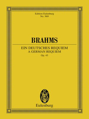 cover image of A German Requiem