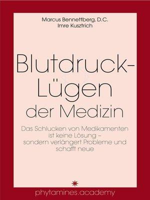 cover image of Blutdruck-Lügen der Medizin