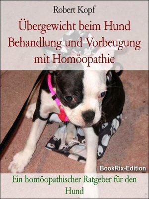 cover image of Übergewicht beim Hund Behandlung und Vorbeugung mit Homöopathie