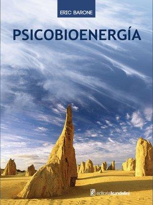 cover image of Psicobioenergía
