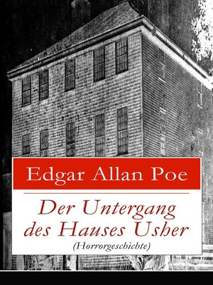 cover image of Der Untergang des Hauses Usher (Horrorgeschichte)