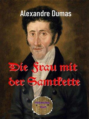 cover image of Die Frau mit der Samtkette