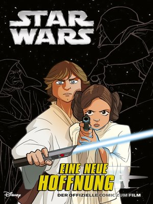 cover image of Star Wars--Eine neue Hoffnung Graphic Novel