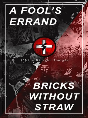 cover image of A Fool's Errand & Bricks without Straw