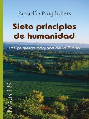 cover image of Siete principios de humanidad