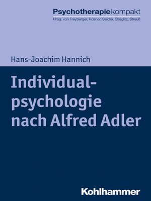cover image of Individualpsychologie nach Alfred Adler