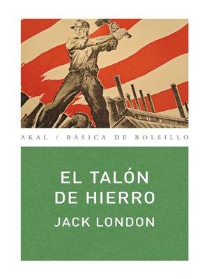 cover image of El talón de hierro